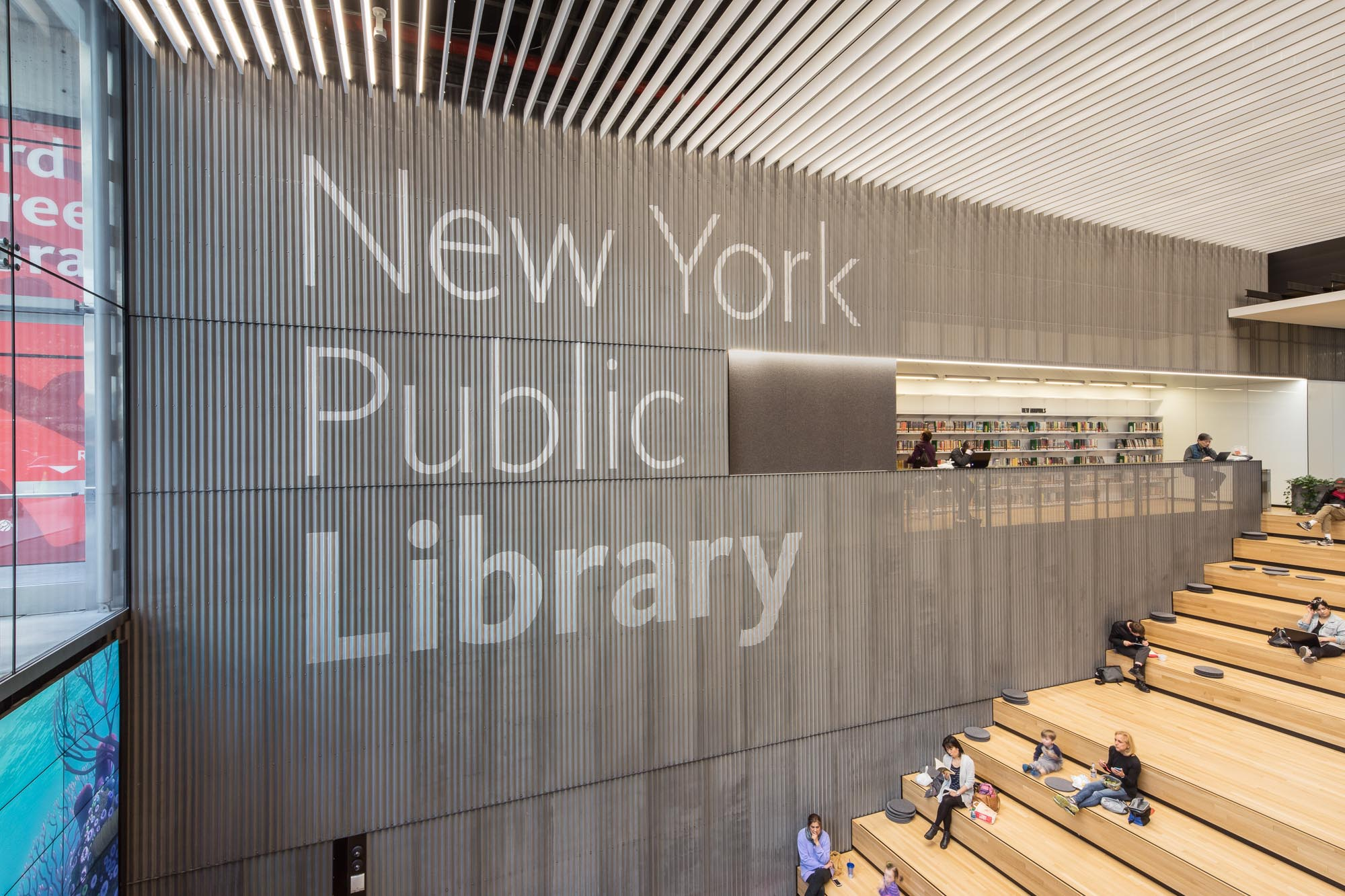 New York Public Library 53rd St 2x4
